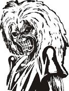 Iron Maiden Car Sticker