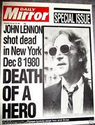 John Lennon Newspaper
