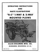 Allis Chalmers Plow