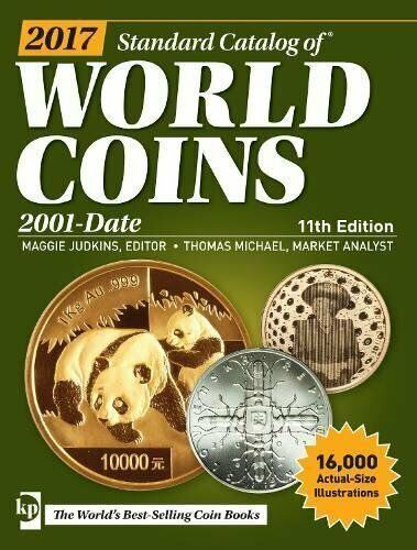 2017 Standard Catalog of World Coins 2000 to Date George Cuhaj - CD, Krause Publ