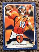 Peyton Manning Autograph