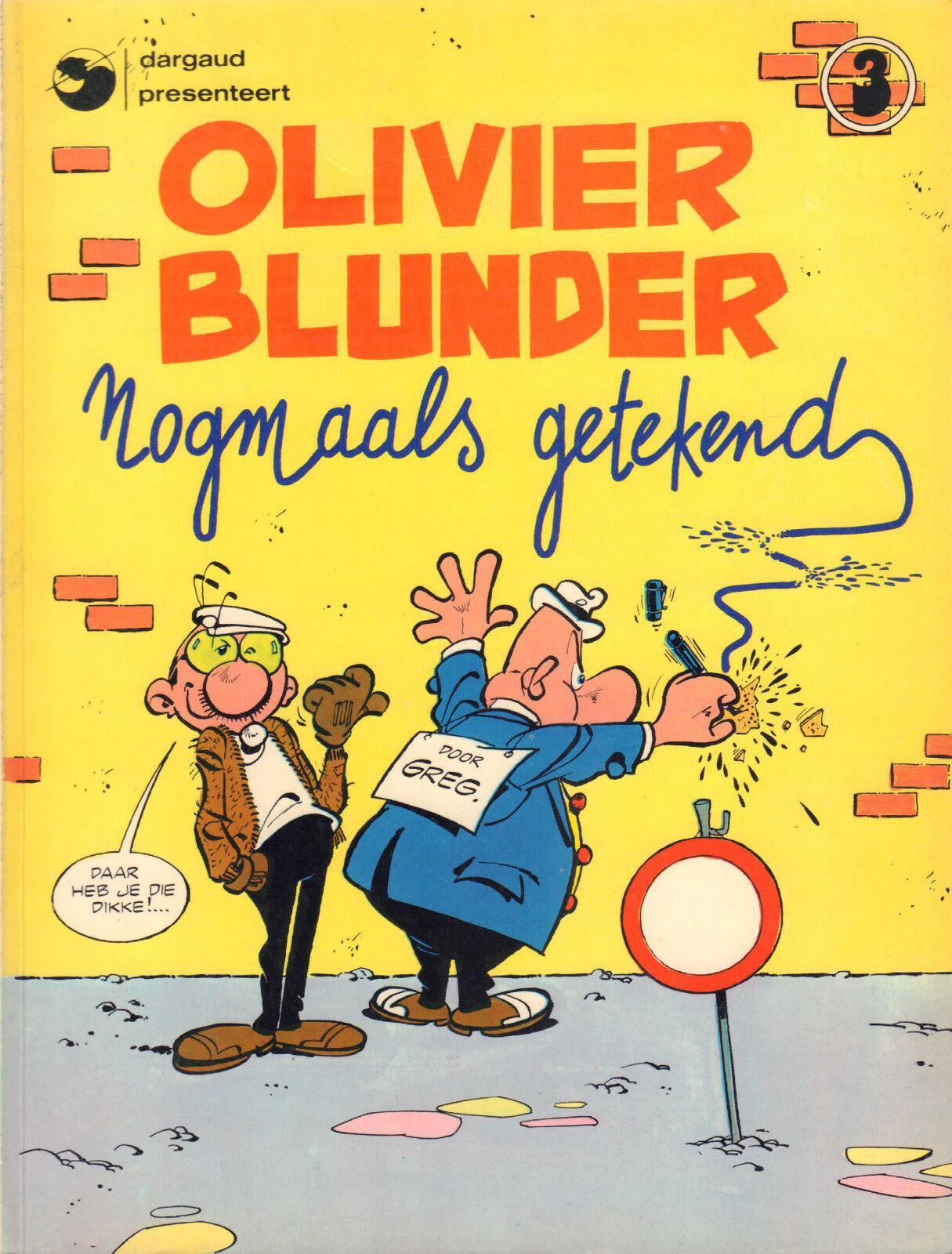 OLIVIER BLUNDER 03 - NOGMAALS GETEKEND
