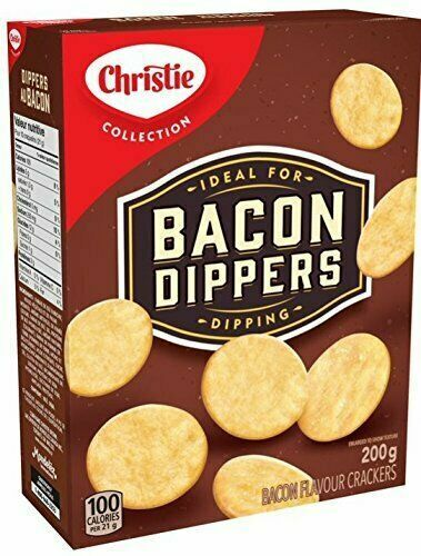 Christie BACON DIPPERS 6 x BOXES 200g Each - From Canada -FRESH & DELICIOUS!