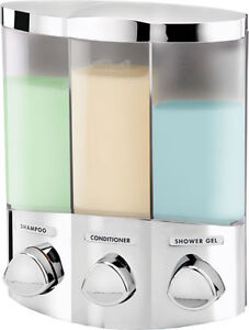 Shampoo conditioner and shower gel dispenser