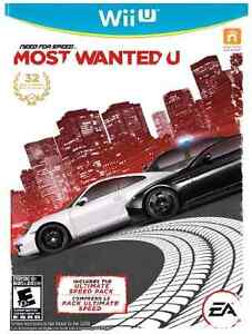 Looking for Need For Speed Most Wanted U