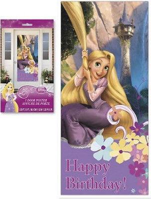 RAPUNZEL TANGLED Scene Setter BIRTHDAY party wall  door poster Disney - Tangled Birthday Decorations