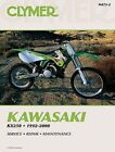 Motorcycle Manuals and Literature KX 1992 Year of Publication Repair