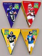 1996 Playoff Contenders Pennants