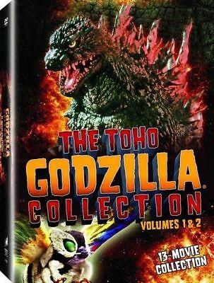 Godzilla Collection  VOL. 1+ 2 DVD Box Set - FREE SHIPPING!!