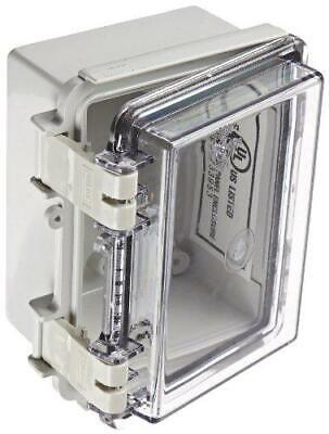Bud Industries Nbf-32402 Plastic Outdoor Nema Economy Box With Clear Door