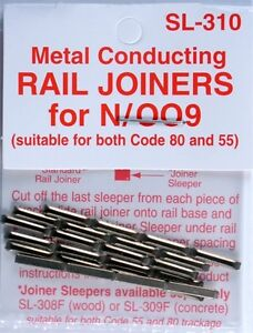 Peco-SL-310-N-Code-55-Conductive-Rail-Joiner-Pack-of-24