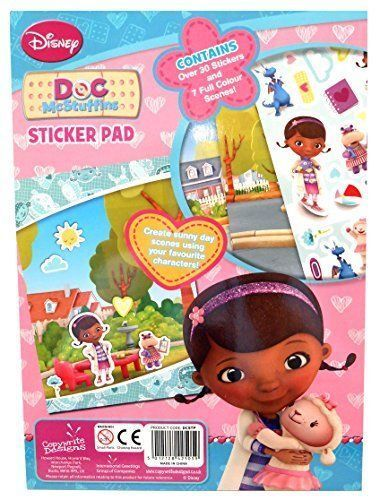 Anker Doc McStuffins Sticker Pad