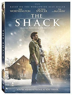 The Shack New  Dvd  2017  Action  Adventure  Drama Now Shipping
