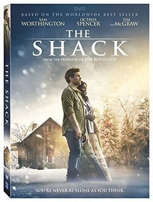 The Shack New  Dvd  2017  Action  Adventure  Drama Fast Shipping