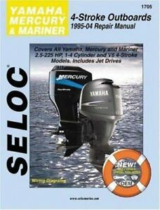 1995 2004 yamaha mercury mariner 4 stroke outboard 2 5 225 for 2004 yamaha 15 hp 4 stroke