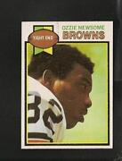 Ozzie Newsome Rookie