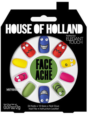House Of Holland Nails By Elegant Touch - FACE ACHE  >> NEW