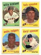 1959 Baseball Card Lot