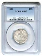 Seated Liberty Quarter PCGS