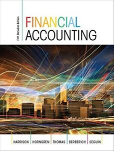 FINANCIAL ACCOUNTING 5th Harrison, Horngren, Thomas, Berberich