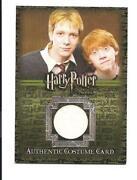 Harry Potter Costume Card