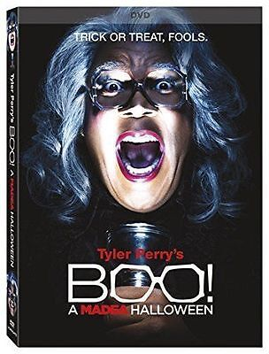 New   Tyler Perrys Boo  A Madea Halloween New Dvd  Sealed