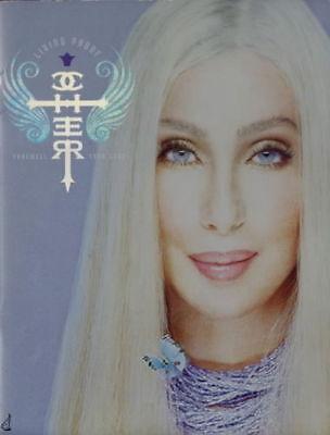 CHER 2002 LIVING PROOF TOUR FAREWELL CONCERT PROGRAM BOOK / EX 2 NMT