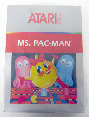 Authentic Collectable Namco ATARI 2600 ms. pac-man New Sealed Complete! CX2675