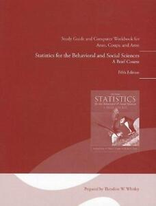 Selling USED Statistics Study Guide ~ $40