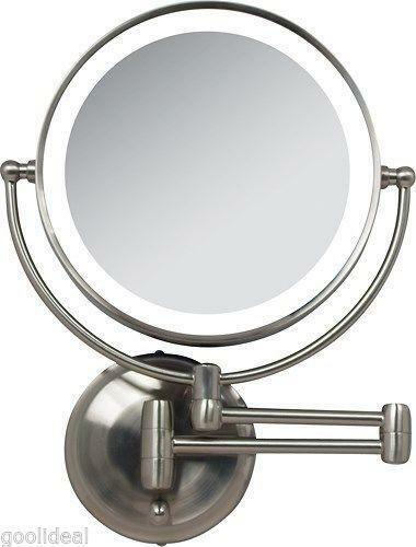 lighted makeup mirror best mirrors reviews wall mounted canada walmart