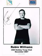 Robin Williams Autograph