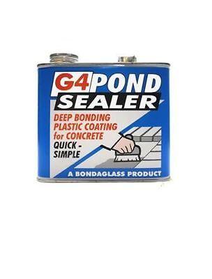 G4 Clear Pond Paint Sealer Waterproof Concrete Sealant - 2.5 Kg