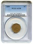PCGS Indian Head Cents AU58