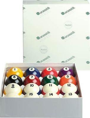 True Belgian Aramith Crown Standard Pool/Billiard Ball Set (Phenolic Resin)