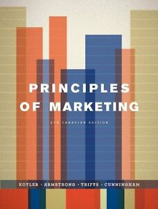 Principles of Marketing, Ninth Canadian Edition (9th Edition) Windsor Region Ontario image 1