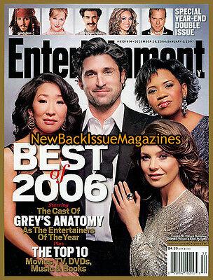 Entertainment Weekly 12 06 Ellen Pompeo December 2006 New