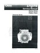 Onan Engine Manuals