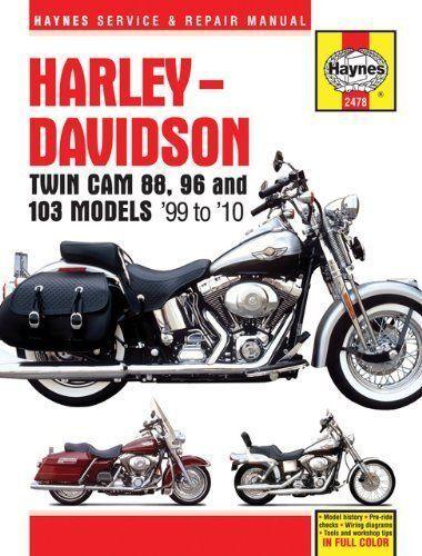 Haynes Manual Harley Davidson Twin Cam 88 1999-2010 96 103 Models