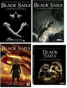 dvd movies BLACK SAILS Complete Series....mint,viewed only once!