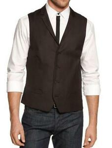 Mens Black Vest | eBay