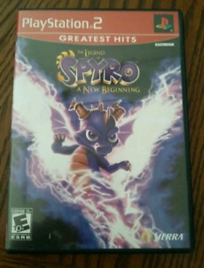The Legend of Spyro: A New Beginning PS2