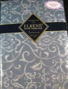 Blue Vinyl Tablecloth