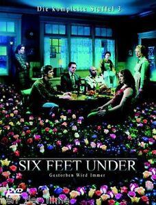 SIX FEET UNDER, Staffel 3 (5 DVDs) NEU+OVP - Oberösterreich, Österreich - SIX FEET UNDER, Staffel 3 (5 DVDs) NEU+OVP - Oberösterreich, Österreich