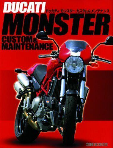 DUCATI MONSTER CUSTOM & MAINTENANCE guide book 4883932753