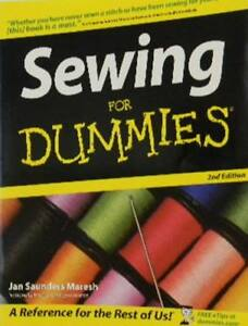 SEWING  FOR  DUMMIES--Free Shipping in B.C.