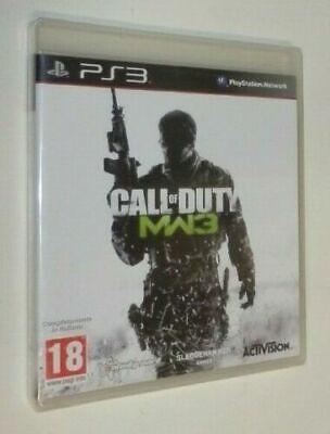 CALL OF DUTY MW3 MODERN WARFARE 3 Play Station 3 PS3 EDIZIONE...