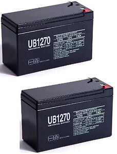 UPG 2 Pack - 12V 7Ah APC Back UPS XS 900 900VA BX900R Battery
