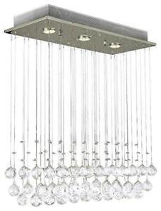 NEW Saint Mossi®Modern Ceiling Lighting Crystal Chandelier LED Lighting Fixture Pendant Lamp