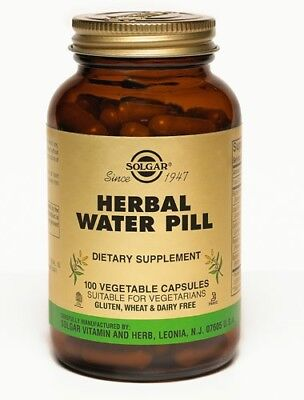 Herbal Water Pill Solgar 100 VCaps
