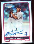 Carlos Martinez Bowman Chrome Auto
